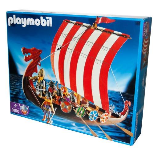 3150 Viking ship - Playmobil - new - OVP - NEW