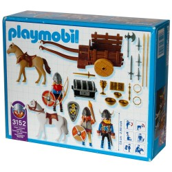 3152 cart Viking - Playmobil - new ÖVP NEW