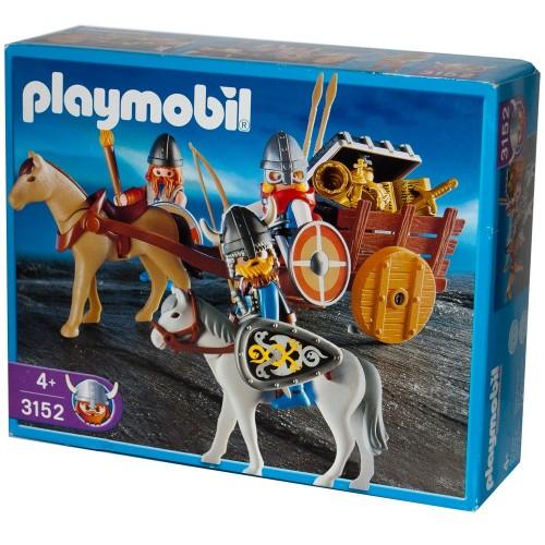 3152 - Carreta Vikinga - Playmobil - NUEVO OVP NEW
