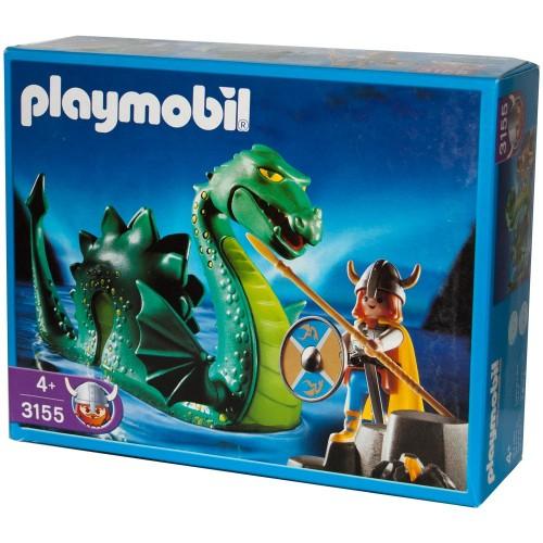 3155 - Monstruo del Lago Ness con Vikingo - Playmobil - Nuevo OVP NEW