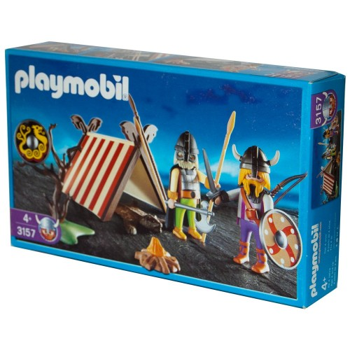 3157 camp Viking - Playmobil - NEW ÖVP