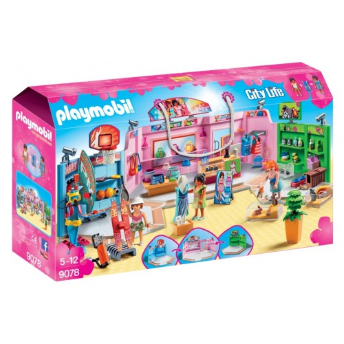 9078 shopping arcade - Playmobil novelty 2017