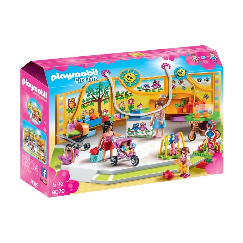 9079 tienda de beb s playmobil novedad 2017 for Jouetstore