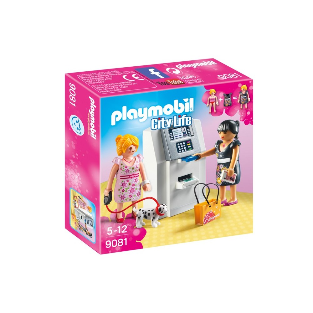 9081 atm nouveaut playmobil 2017 playmobileros tienda de playmobil nuevo y ocasi n. Black Bedroom Furniture Sets. Home Design Ideas