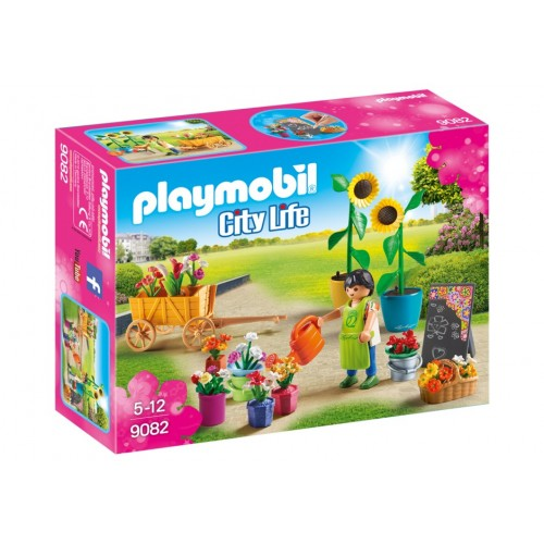 9082 florist - Playmobil novelty 2017