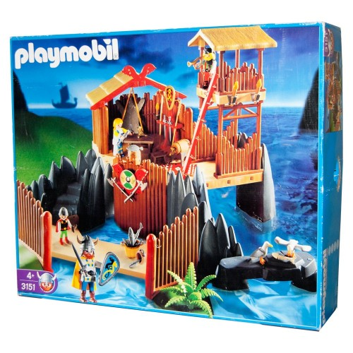 3151 bastion Viking - Playmobil - NEW OPEN BOX