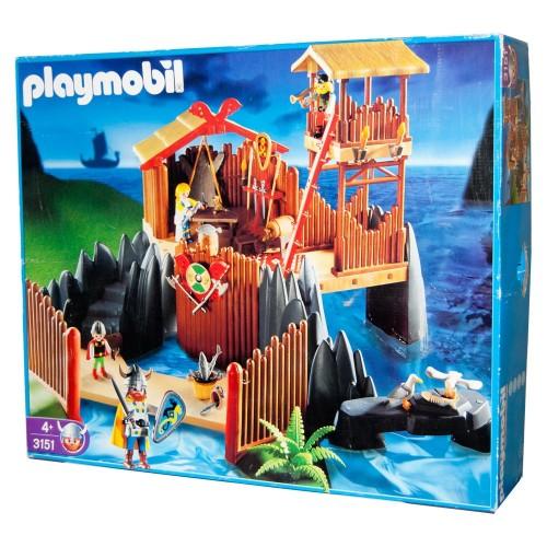 3151 - Bastión Vikingo - Playmobil - NEW BOX OPEN