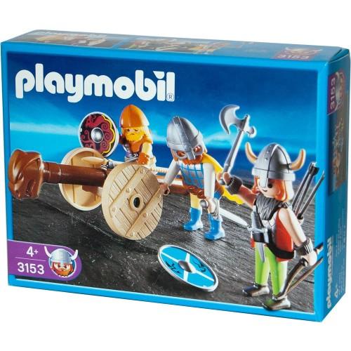 3153 - Vikingos con Ariete - Playmobil NUEVO NEW OVP