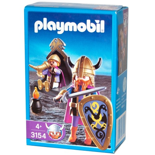 3154 - Rey Vikingo - Playmobil - NEW NUEVO OVP