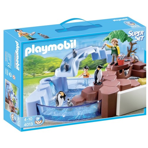 4013 SuperSet pool penguins - Playmobil