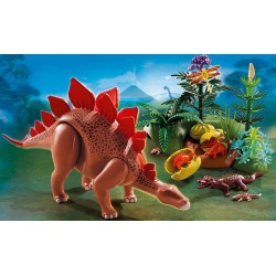 5232 stegosaurus con vitelli - Playmobil