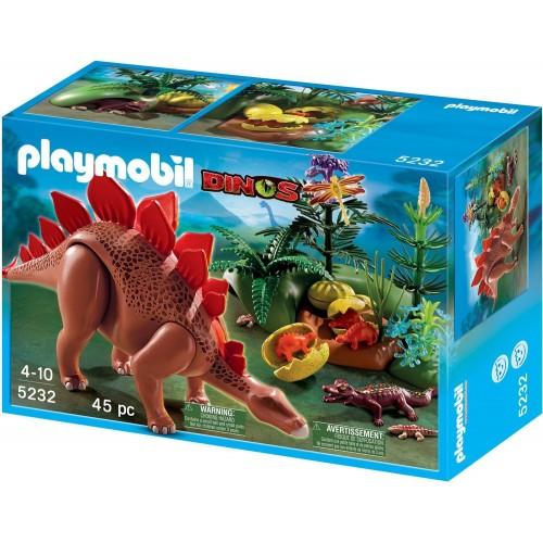 5232 - Stegosaurus con Crías - Playmobil