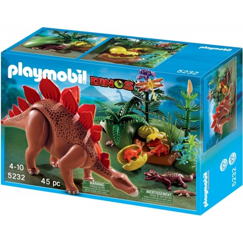 5232 Stegosaurus with calves - Playmobil