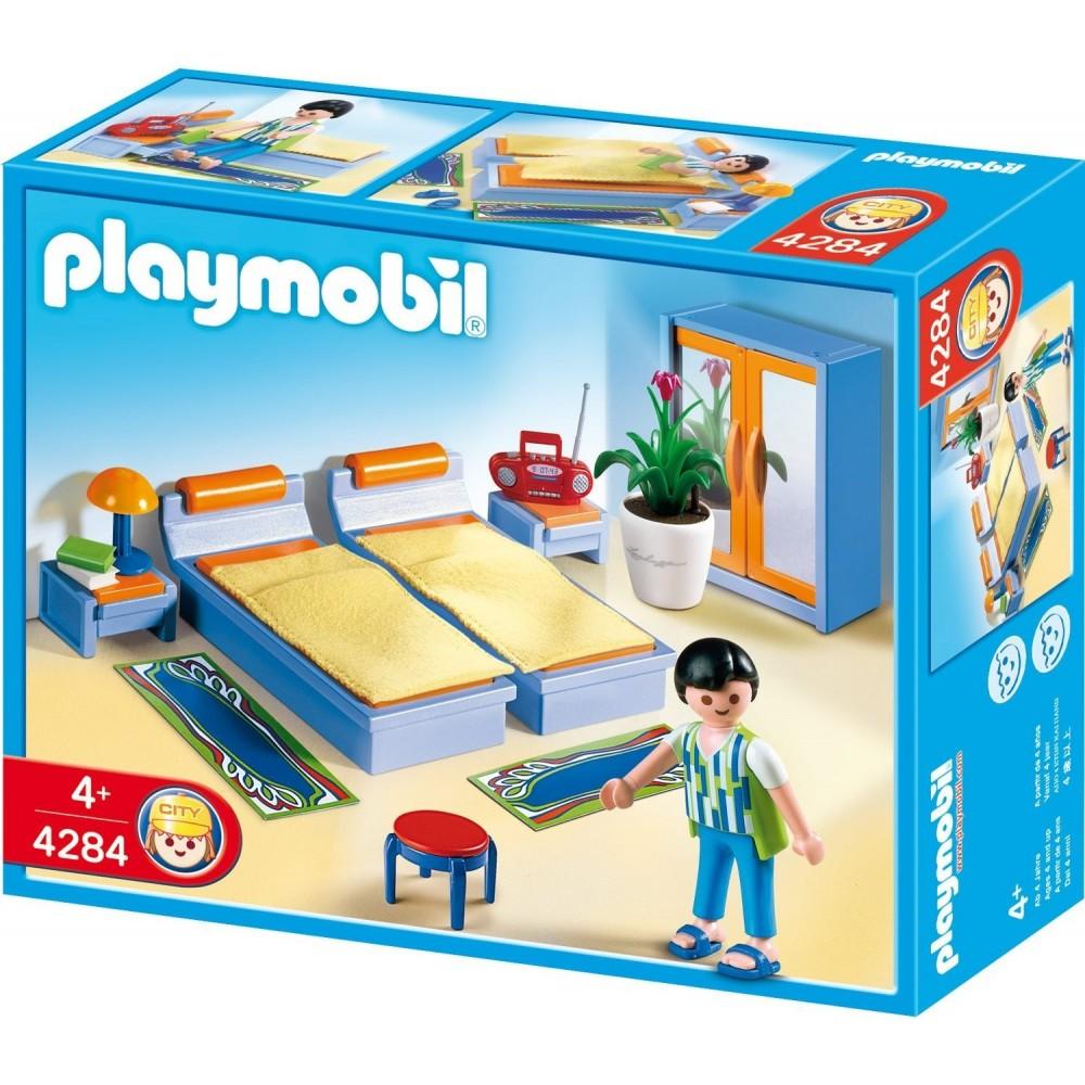 4284 dormitorio de familia playmobil playmobileros tienda de playmobil nuevo y ocasi n - Playmobil esszimmer ...