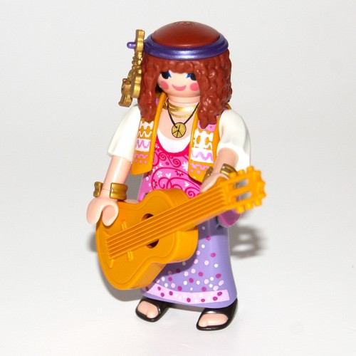 9147 woman Jipi with guitar - Figures-Playmobil - about surprise series 11 new 2017