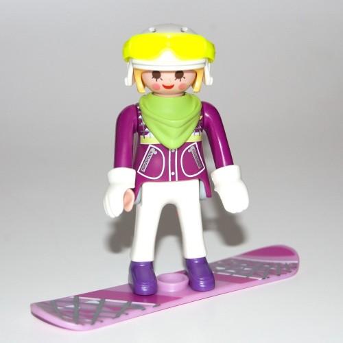 9147 - Mujer Snowboarder - Figures Playmobil - Sobre Sorpresa Serie 11 NOVEDAD 2017