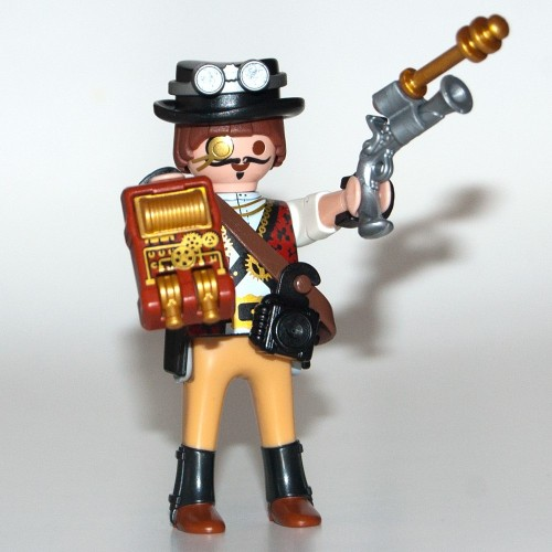 RESERVE * - 9146 - Figures-Playmobil - about surprise - series 11 - men