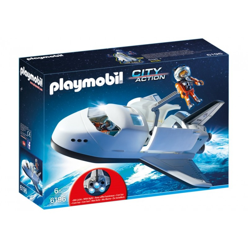 6196 space shuttle - Playmobil