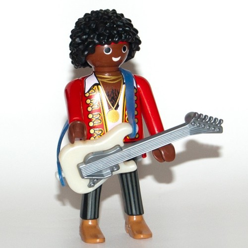 9146. Jimmy Hendrix - Figures-Playmobil - series 11 new 2017