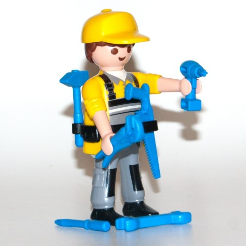 9146 - technical Installer - Figures-Playmobil - series 11 new 2017