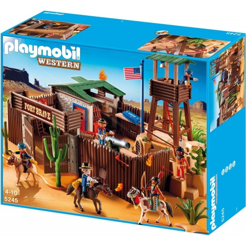 5245 big strong Western - Playmobil Western