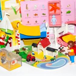 5333 chambre enfants - maison Munencas - Playmobil