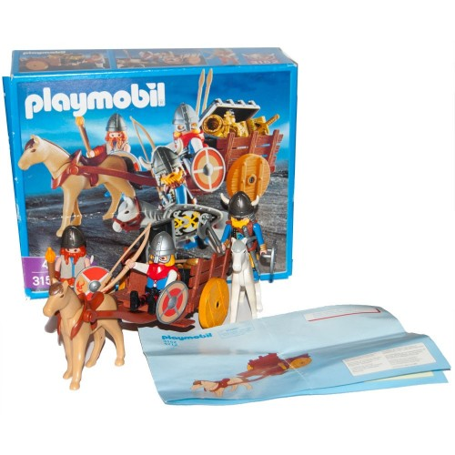 3152 cart Viking - Playmobil - occasion ÖVP