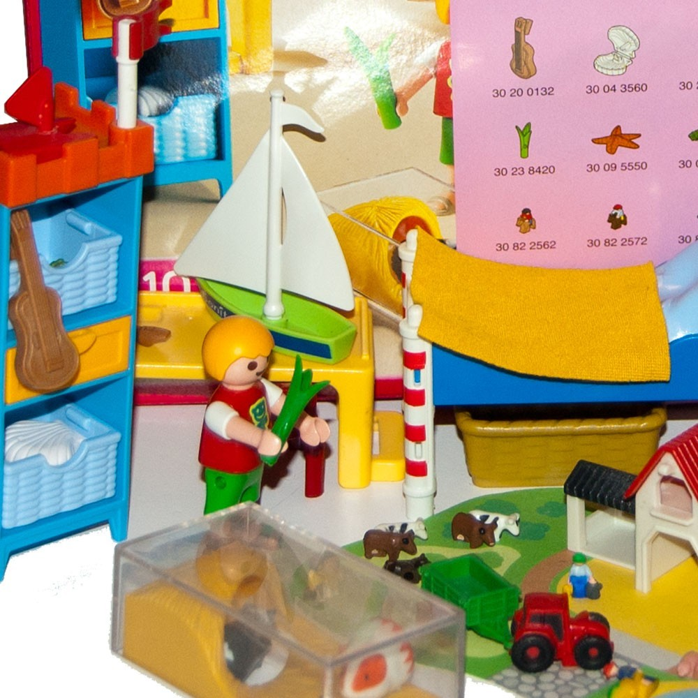 5333 habitaci n ni os casa mu encas playmobil - Habitacion 3 ninos ...