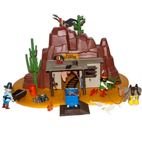 3802 - mine l'occasion McLaren´s West - Playmobil-
