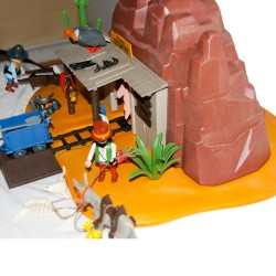 3802 - Mine the McLaren´s West - Playmobil - occasion