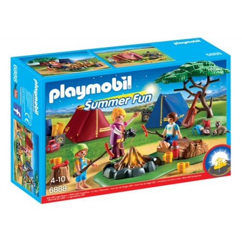 6888 fire summer camp Led - Playmobil
