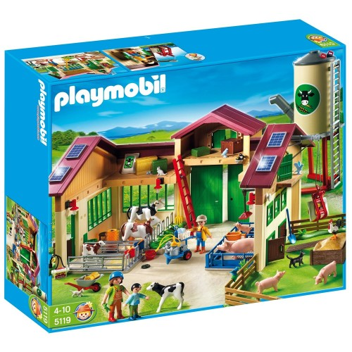 5119 farm with Silo - Playmobil - new ÖVP