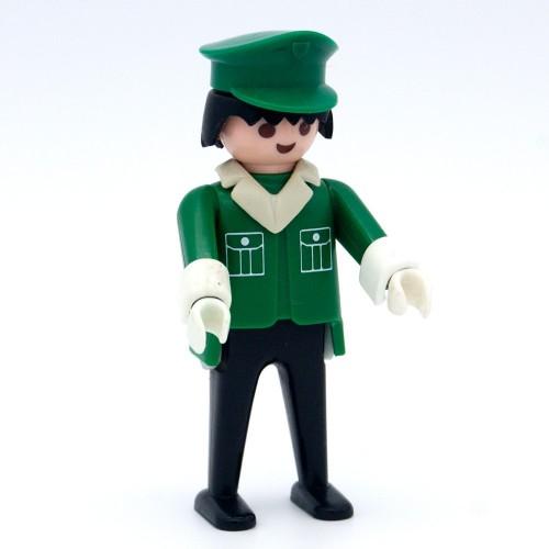 Green postman with Cap - Playmobil