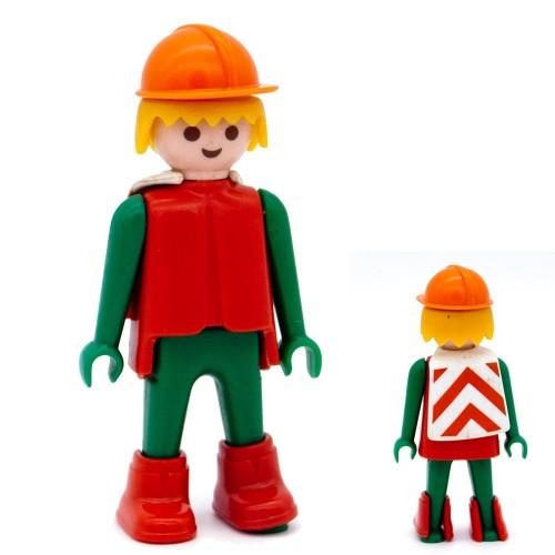 Operator technician works - Playmobil