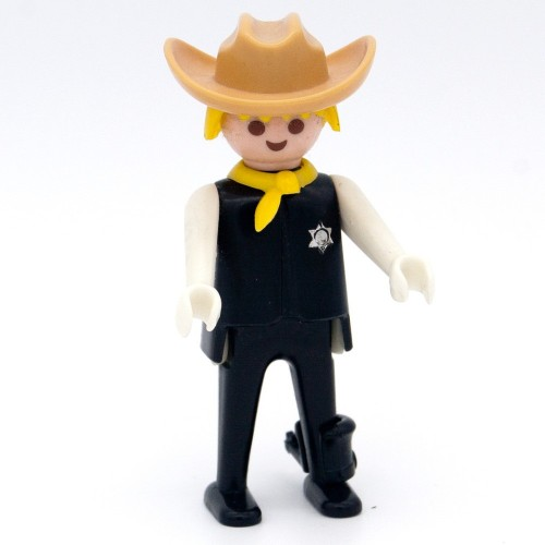 Sherif Ropa Negra Espuelas - Playmobil