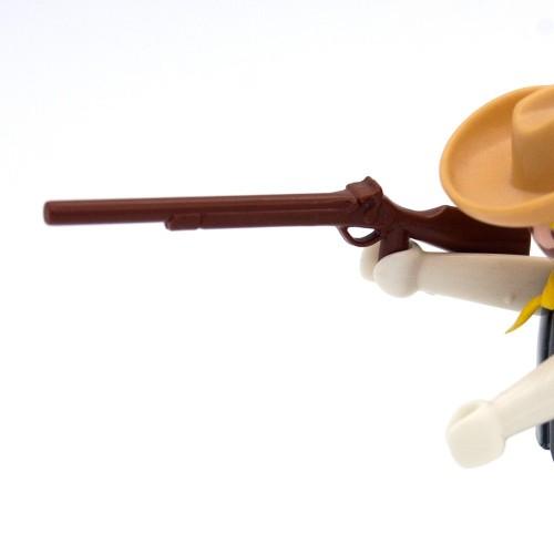 Escopeta Marrón Simple Rifle Oeste - Playmobil