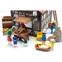 6219-bakery Medieval with characters and Extras-Playmobil