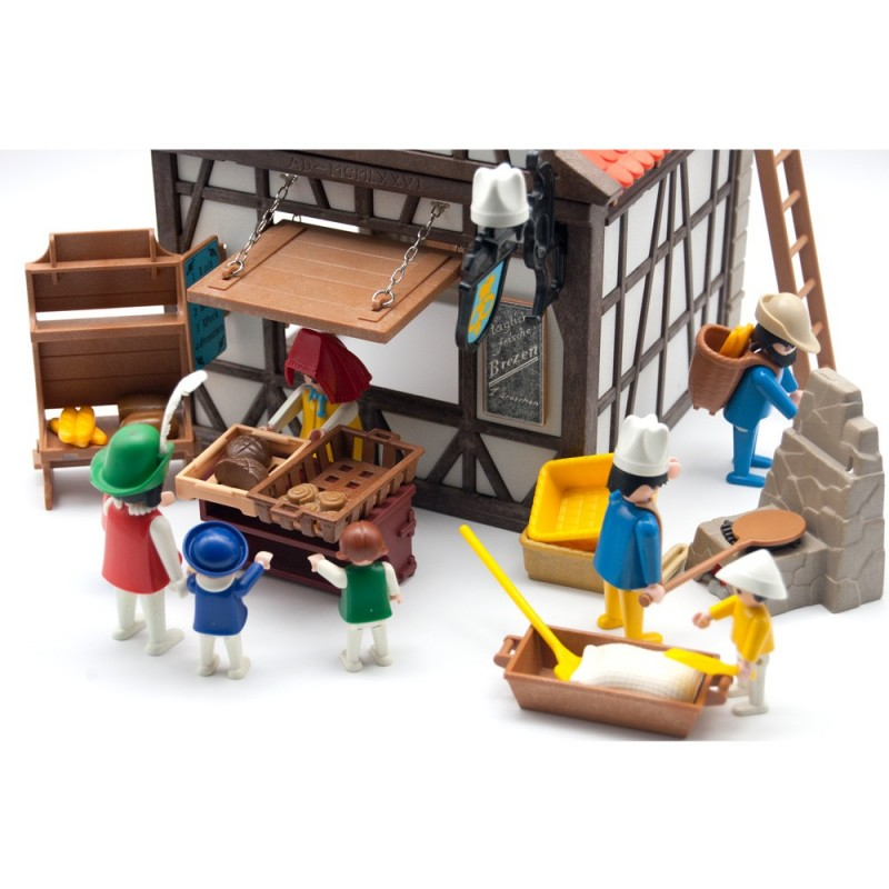 6219 bakery Medieval characters and Extras - Playmobil