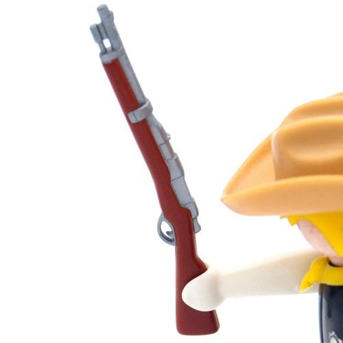 Carabina Marrón Rifle - Playmobil