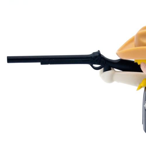 Escopeta Negra Simple Rifle Oeste - Playmobil