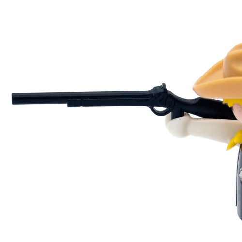 Simple black shotgun Rifle West - Playmobil