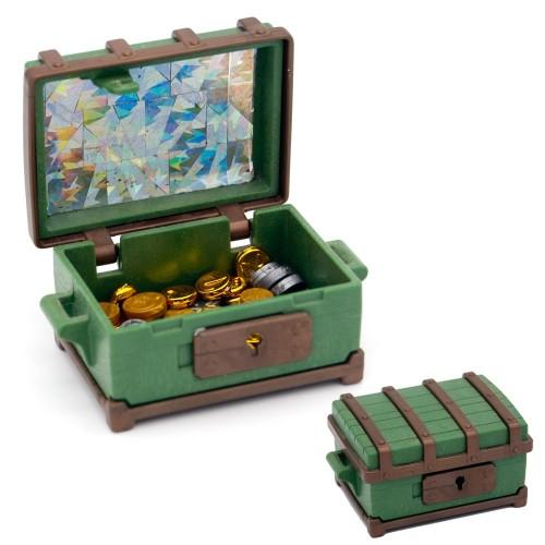 Cofre del Tesoro Verde con Monedas - Pirata - Oeste - Playmobil