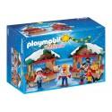 5587 - Mercadillo Naviideño Artesanal Juguetes Pasteles - Playmobil