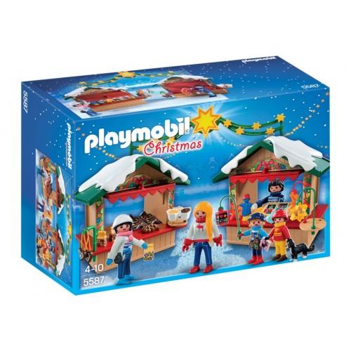 5587-Fiera del baratto Naviideno giocattoli fatti a mano dolci-Playmobil