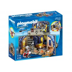 6156-chest Knights of the treasure-Playmobil