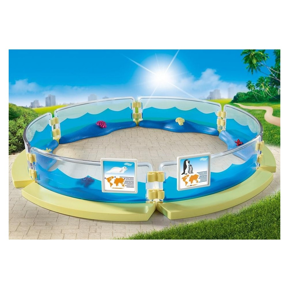 9063 pool marina playmobil novelty 2017 playmobileros for Piscine playmobil