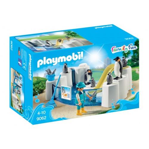 9062 i pinguini - piscina novità 2017 Playmobil