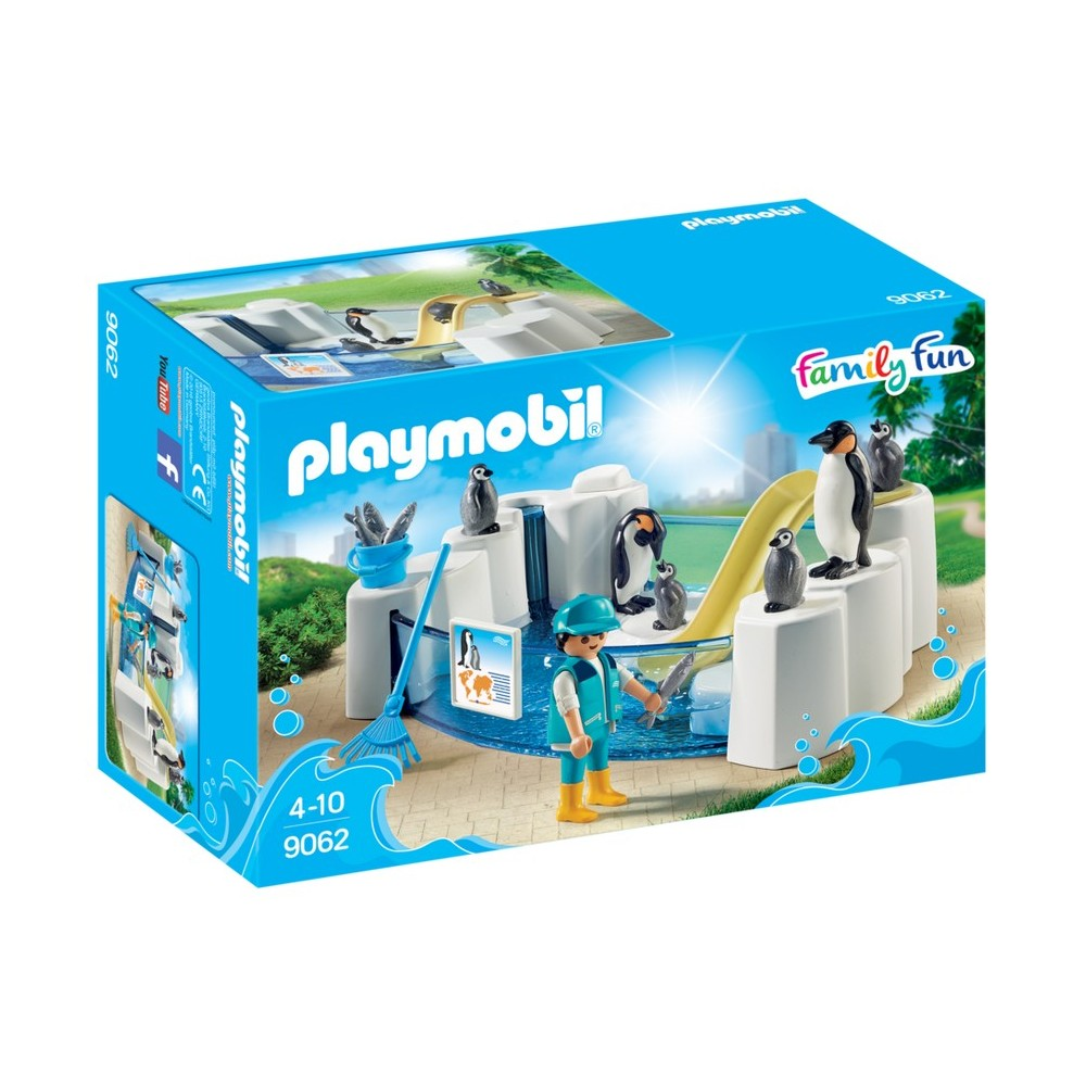 9062 les pingouins piscine nouveaut 2017 playmobil for Piscine playmobil