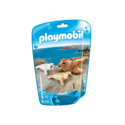 9069-seal with babies-new Playmobil 2017 Germany
