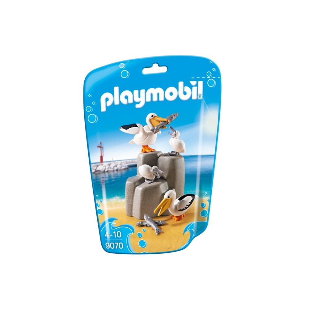 9070 family pelicans on rock new playmobil 2017 germany playmobileros tienda de playmobil. Black Bedroom Furniture Sets. Home Design Ideas
